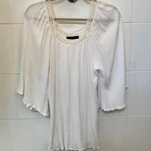 White Cover up dress or Top